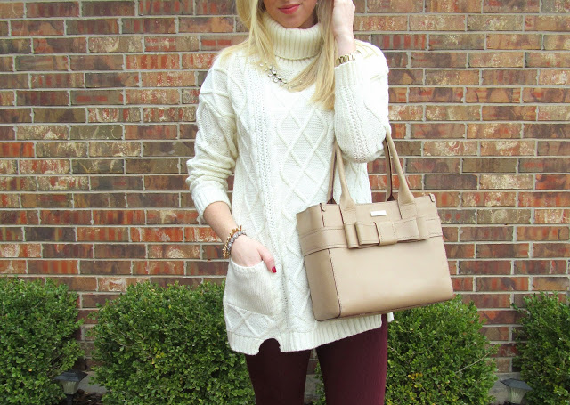 Turtleneck Tunic {Sheinside} by Washington DC fashion blogger Styled Blonde
