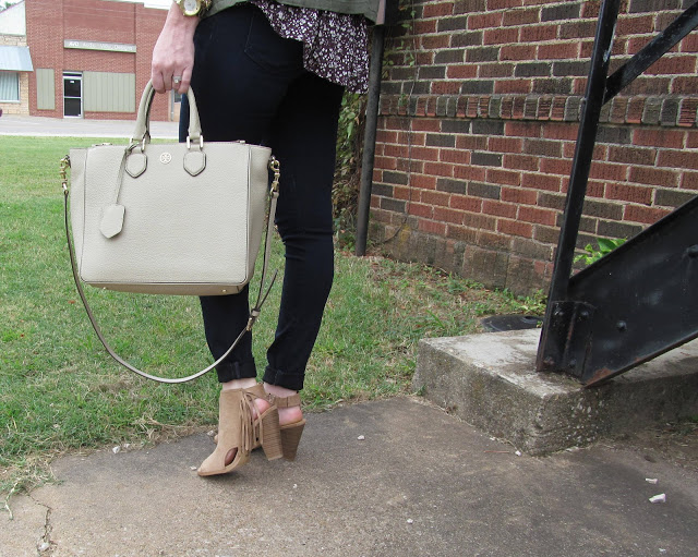 Fall Floral & Fringe Booties [Jess Lea Boutique] by Washington DC blogger Styled Blonde