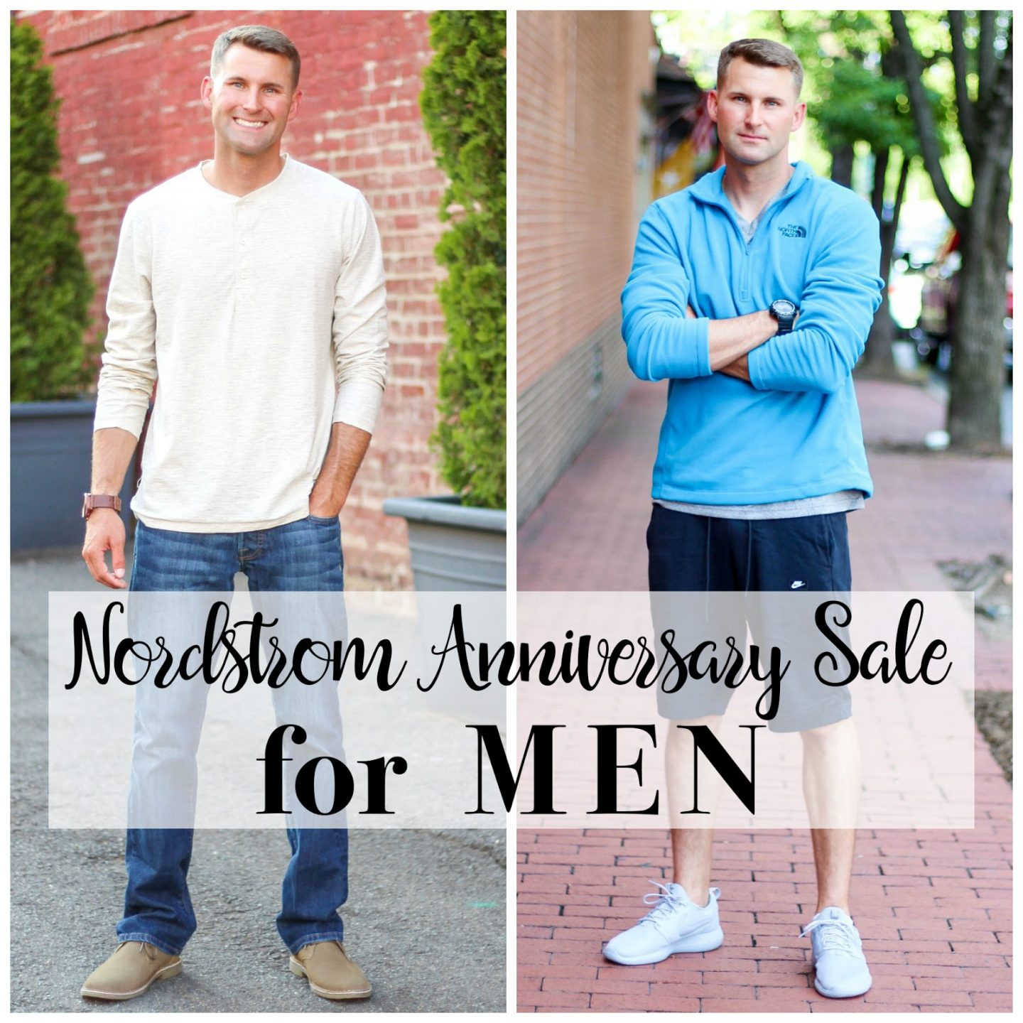 Affordable outfits from the anniversary sale for men