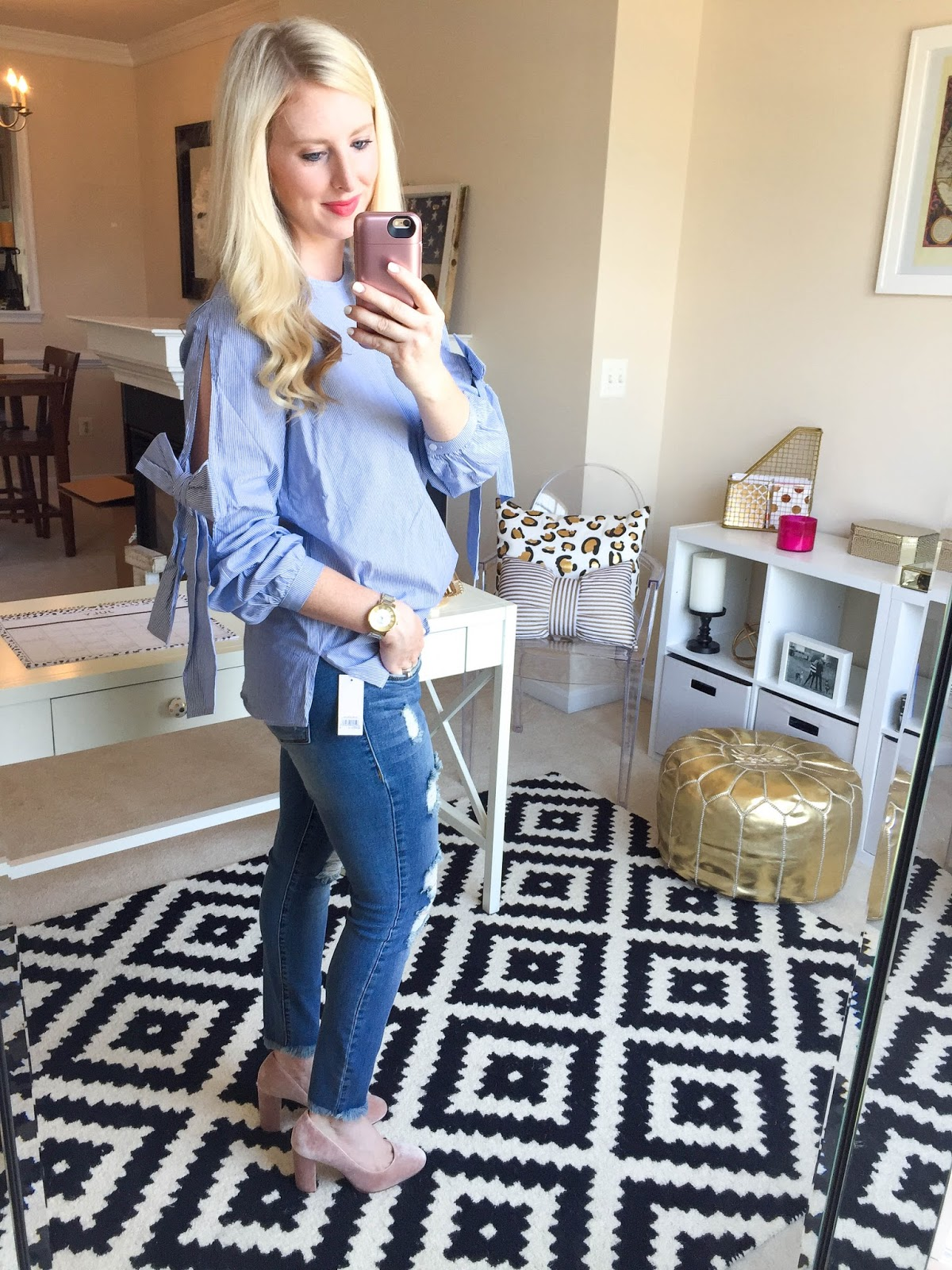 25 Outfit Try On Session from the Nordstrom Anniversary Sale by Washington DC fashion blogger Styled Blonde