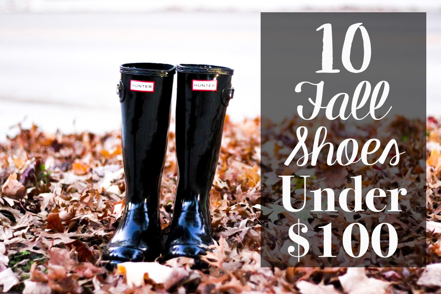 Cute Fall Shoes You Need Under $100 by Washington DC fashion blogger Styled Blonde