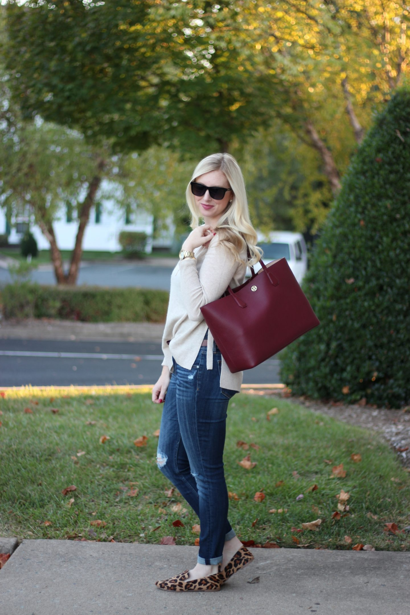 Sweater Weather & My 10 Favorite Fall Sweaters with Cute Details by Washington DC fashion blogger Styled Blonde