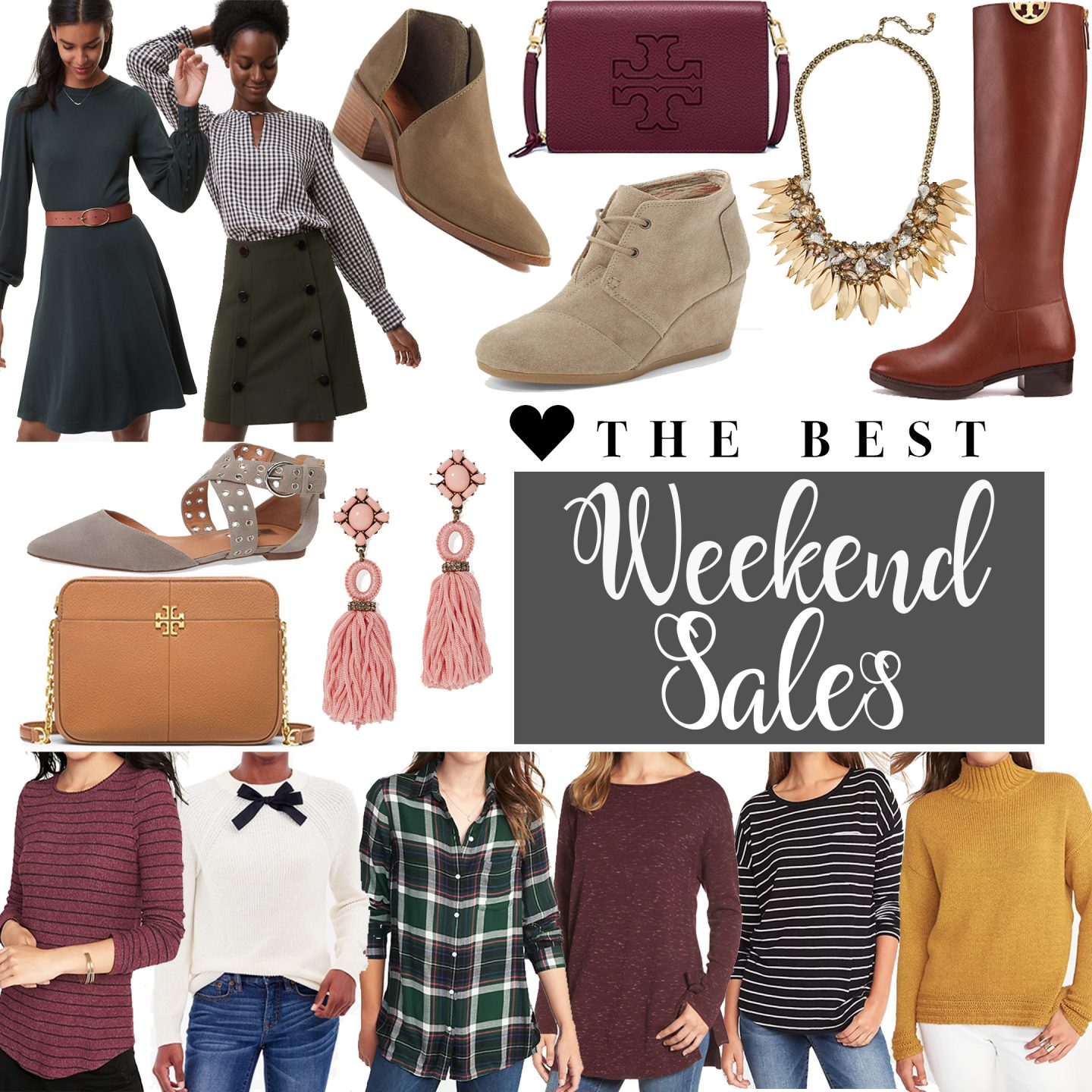 Weekend Sales Favorites by Washington DC fashion blogger Styled Blonde