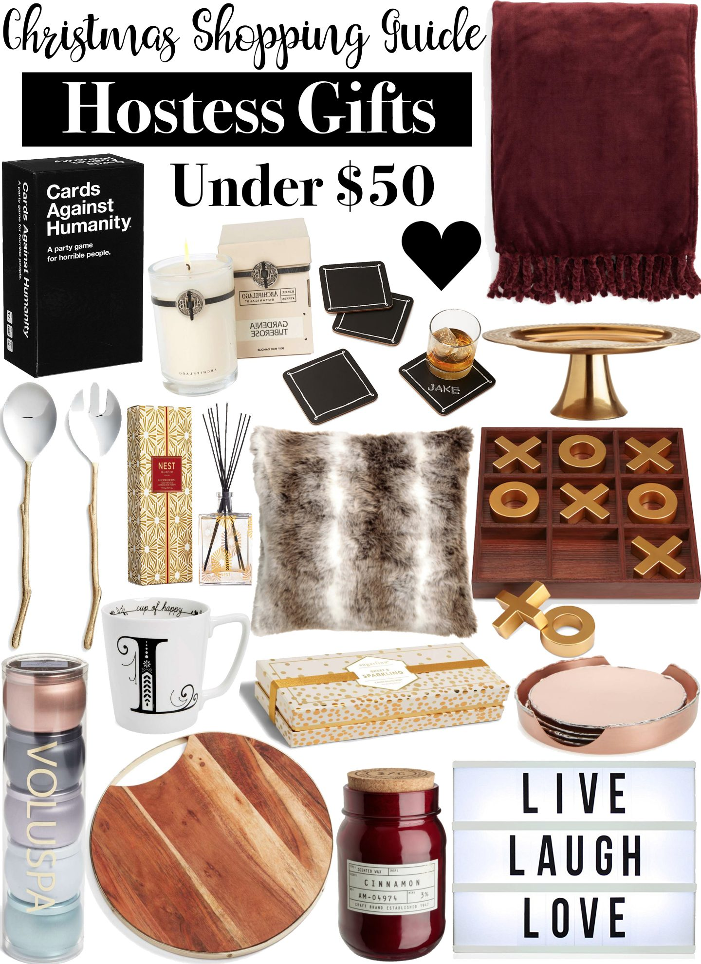 Christmas Shopping Guide: Hostess Gifts Under $50 by Washington DC style blogger Styled Blonde
