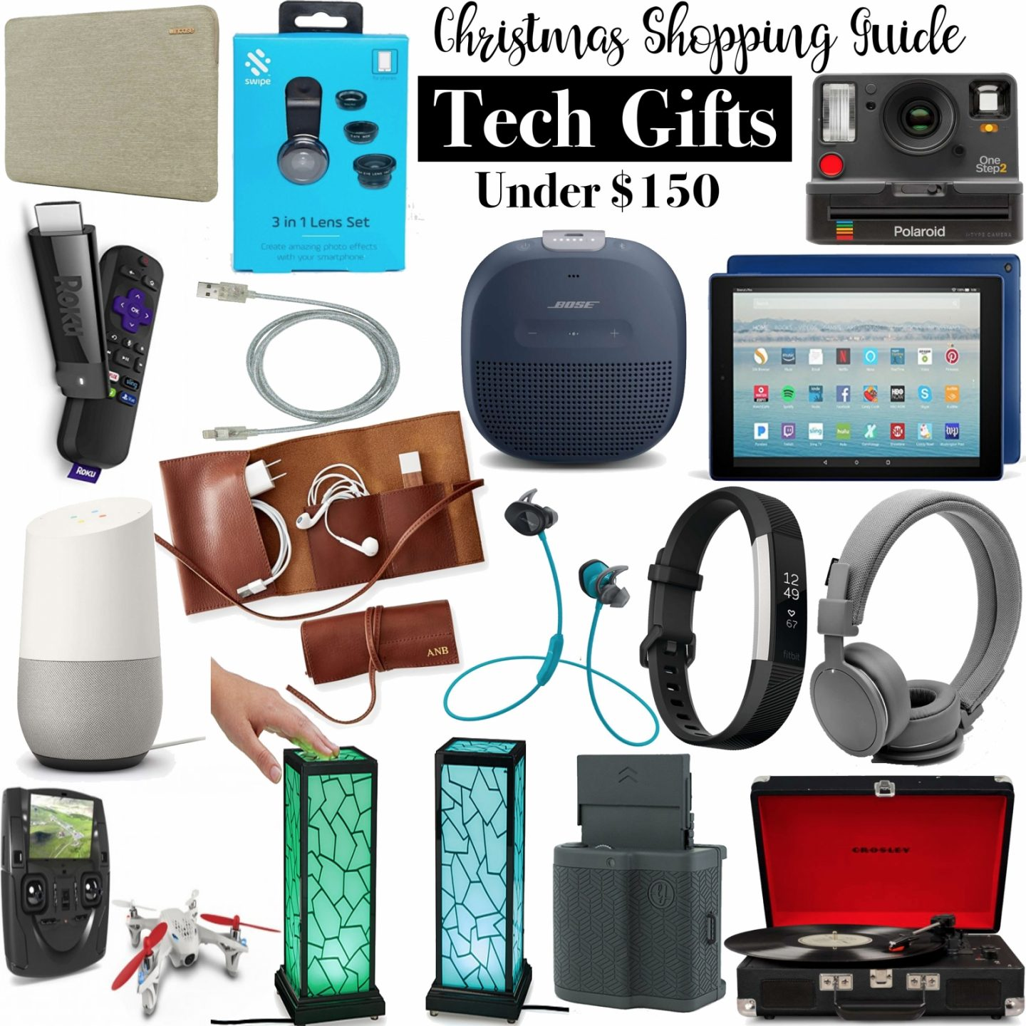 Christmas Shopping Guide: Tech Gifts Under $150 by Washington DC blogger Styled Blonde